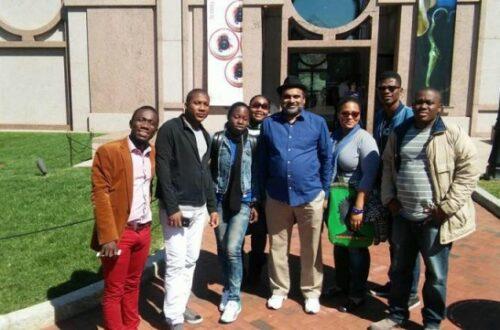 Article : Des journalistes haïtiens en visite d'exploration à Washington